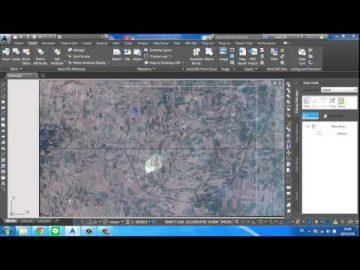 Autocad Map 3D modify image,Raster image Clipping Boundary โดย อุดมศักดิ์ หล่อล้ำเลิศ