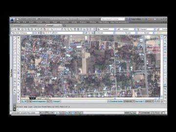การนำเข้าภาพทางอากาศจาก Bing เข้า AutoCAD Map 3d เทคนิคนำเสนอโดย กำพล อิ่มรัตนกุล